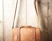 Leather Bag, Men's Leather Bag, Leather Briefcase, Leather Shoulder Bag, Men's Bag, Shoulder Bag, Leather Satchel 215