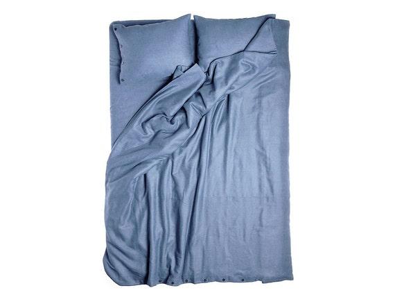 Duvet cover, Serenity blue linen bedding, linen duvet Queen, King duvet, Twin Full or Double size. Blue duvet cover, blue linen duvet