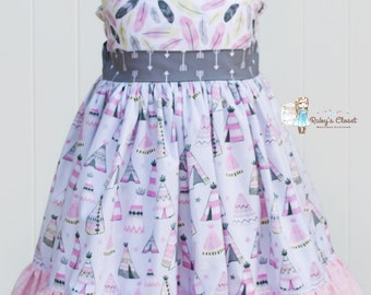 Tee Pee Dress  from the Dream Catcher line--12mos-8