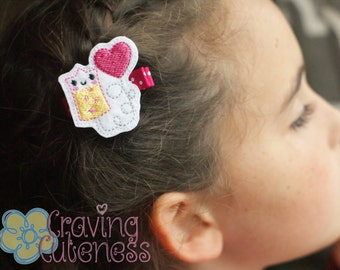 IV Bag Hair Clip, Planner Accessory, Bookmark, Badge Reel - Meet Miss Ivy