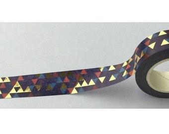 Triangle Masking Tape (10M) - Gold