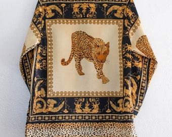 baroque jaguar blouse - L