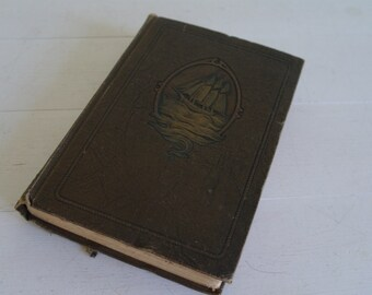 Joseph Conrad Book -  'Twixt Land and Sea - 1925, Doubleday, Page & Co - Embossed Cover