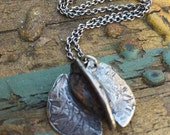 Samara in Sterling Silver (Flying Seed Pod)