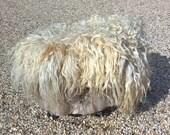 Alison – sheepskin rug, felted wool rug, sheepskin rug, felt eco skin, Dutch design rug