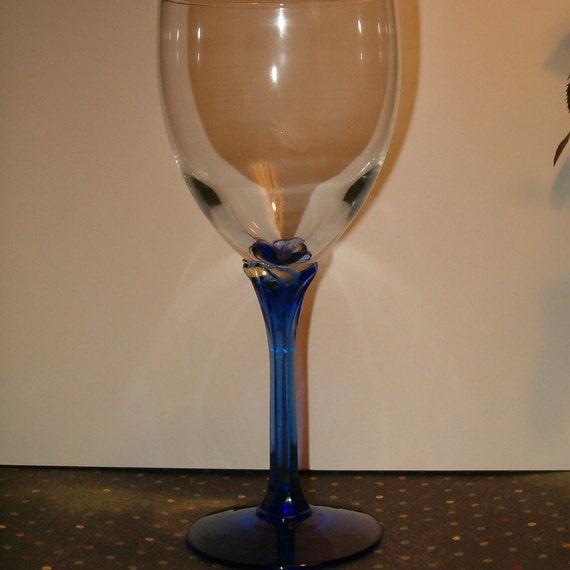 Items Similar To Vintage Set Of 4 Lighter Cobalt Blue