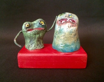 Two Tiny Things  -  A Recycled Creature