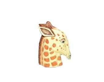 Ceramic Giraffe Giraffe Bookend Fitz and Floyd Giraffe Giraffe Head Giraffe Figurine Nursery Decor Giraffe Nursery