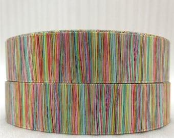 "Striped 1"" Grosgrain Ribbon"