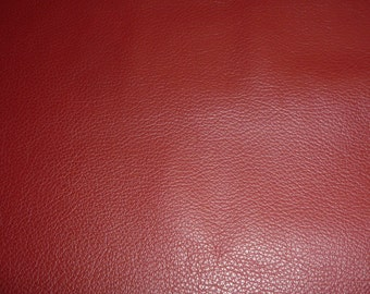 """Leathers 12""""x12"""" DIVINE DARK Red top grain Cowhide 2-2.5 oz /.8-1mm Avaialbe in hides PeggySueAlso™ E2885-28"""