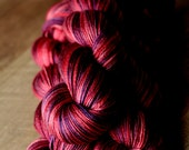 "Sock yarn - 50/50 SW Merino/Silk - Valentine's Day - ""Sweetheart"""