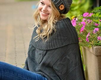 Women's Slouchy Hat / Crochet Slouchy Hat / Women's Hat / Women's Crochet Hat / Women's Accessories / Fall Fashion / Slouchy Beanie Hat