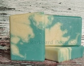 Surf's Up Soap Handmade with Avocado Oil, Mango and Shea Butters -  Beach Soap - Ocean Soap - Nautical Soap - Sea Soap - Wave Soap-Surf Soap