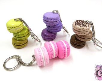 Macaron Keychain (In Ombre Or Solid Color)