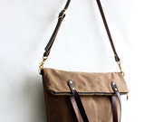 Pisgah Deluxe  Fold-Over Waxed Canvas Tote for charlenef68