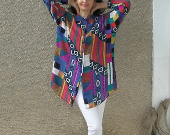 Vintage Semi Sheer Shirt size L-XL