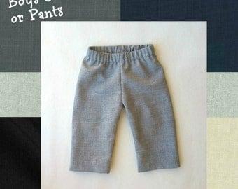 Made to Order: Boys Dress Pants, Ring Bearer Pants, Baby Trousers, Infant Pants, Black Pants, Baby Boy, Toddler Boy Pants, Suit Pants