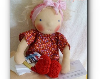 PDF Pattern Waldorf doll by belambolo, Ebook, Create your own doll, Tutorial for fabric doll