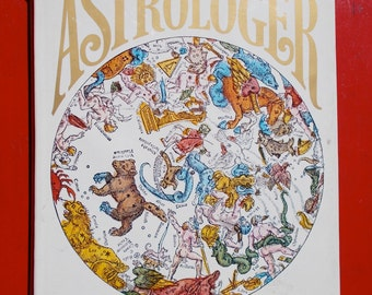 1970s The Compleat ASTROLOGER BOOK by Derek and Julia Parker HARDCOVER