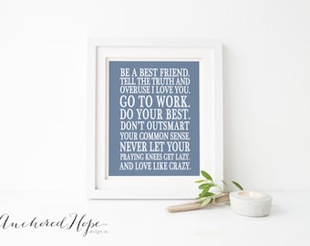 Love like crazy - Lee Brice - Love -Wedding - Anniversary Print - PIY