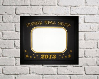 Custom Personalized New Years Frame