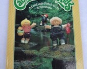 A Cabbage Patch Kids Adventure vintage Photo Story Book by Parker Brothers, 1984, gift for girls Easter dolls 80's ephemera multicultural