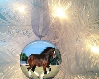 Horse #8 Christmas Tree Ornament
