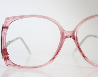 oversized pink drop arm frames