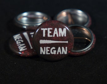 The Walking Dead | TEAM NEGAN | 1-inch Buttons |