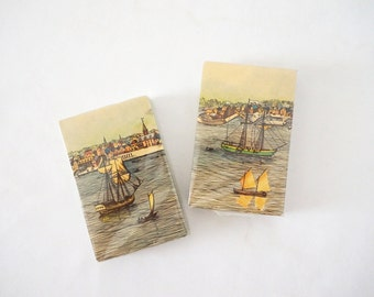 Vintage Tall Ships Nautical Playing Cards