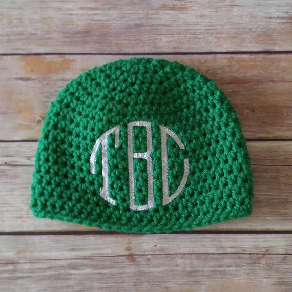 baby hat baby shower gift personalized baby gift crochet baby