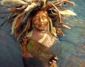 The Goddess Athena, batik, Be Brave
