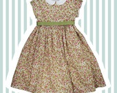 Girl's Liberty Print Special Occasion Dress | Baby to 10 years | Eliza's