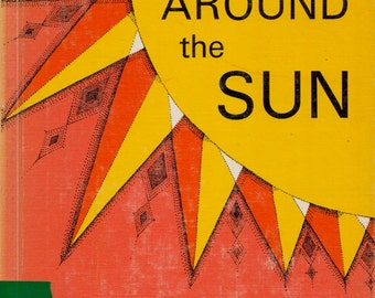 Swing Around the Sun (a vintage book of poetry for children) by Barbara Juster Esbensen, illustrated by Barbara Fumagalli