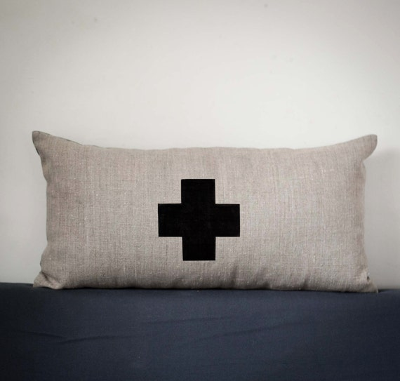Decorative Pillows With Crosses : Swiss cross pillow cover decorative pillows decorative