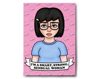 Feminist Tina Art Print