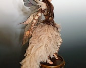 "OOAK ""SEPIA"", a One of a Kind Art Doll sculpture by Victoria Mock"