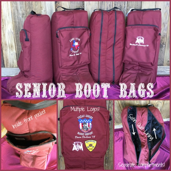Texas A&M Senior Corps of Cadets Boot Bag