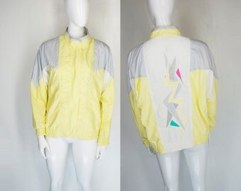 1980s 80s New Wave Memphis Design AbstractJacket
