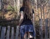 Sideshow Skirt, One of a kind, Skirt, Hand Dyed, Bamboo, Organic Clothing, READY TO SHIP