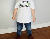Little Brother with Arrow Baby Bodysuit or Youth T Shirts More Colors Available