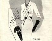 Cross Bodice Wiggle Dress Spadea International Designer Norman Hartnell NS-211 Size 16 Bust 38