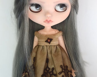Dress for Blythe or similar 1/6 dolls