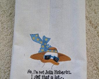 Mitzi the Duck Dish Towel