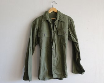 Vintage US Marines Women's L Canvas Jacket