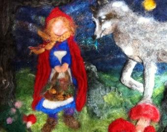 Fairy Tale Tapestry Needle Felting Class, Sunday, June 5, Plainsboro, NJ