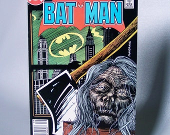 Vintage 1986 Batman No. 399 Nice Condition