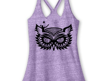 Volley Owl Volleyball Tank Volleyball Shirt