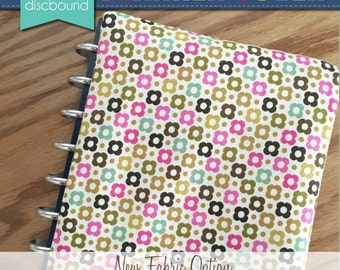 Discbound Planner Cover (Mini Floral)