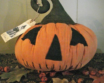 Jack O Lantern Pumpkin Sitter